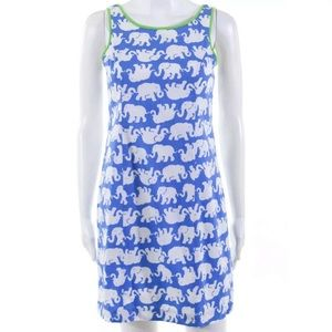 Lilly Pulitzer Elephant Shift Dress  Size 00 NWT